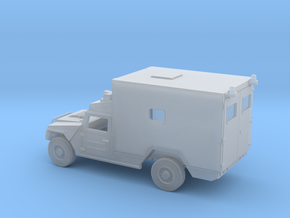 URO VAMTAC-ST5-Ambulancia-H0-proto-01 in Smooth Fine Detail Plastic
