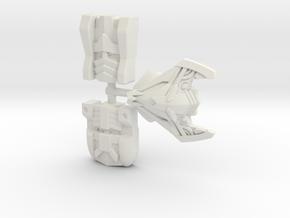 Sideways Faces 3-Pack (Titans Return) in White Natural Versatile Plastic