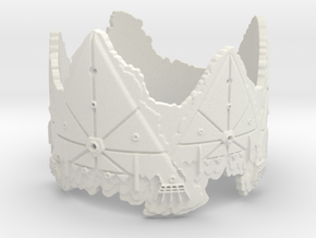 Cloud Ships 2, Ring Size 14 in White Strong & Flexible