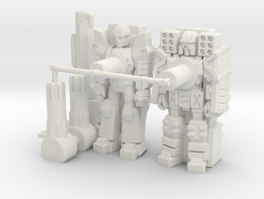 Quake Targetmaster 2-Pack (5mm) in White Strong & Flexible