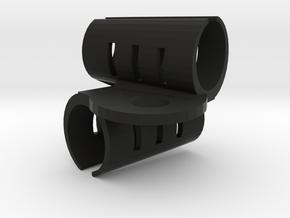 ORTF Stereo Mic Clip SM57 in Black Natural Versatile Plastic