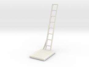 S scale 1:64 Maintenance Platform v6 in White Natural Versatile Plastic: 1:64 - S