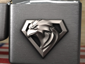 Eagle(Emblem) in Polished Silver