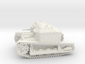 Tancik Vz33 Tankette 1-87 in White Strong & Flexible