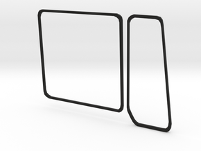 MAN F2000 Silent Body Window Sealing L in Black Strong & Flexible