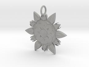 Elegant Chic Flower Pendant Charm in Aluminum