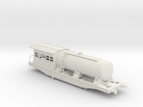 Dispenser wagon for weed control in White Natural Versatile Plastic