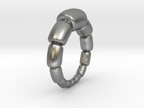 Magdalena - Ring in Natural Silver: 9 / 59