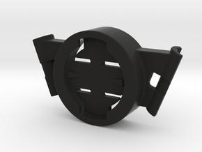 Garmin Saddle Rail Mount 1 (fitment in description in Black Natural Versatile Plastic