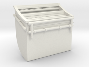 1/48 USN Box for Signal Flag in White Natural Versatile Plastic