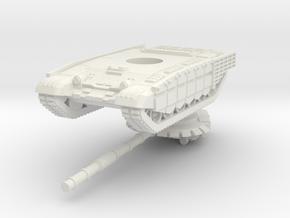 1/144 T-72B3M (cage armour) in White Natural Versatile Plastic