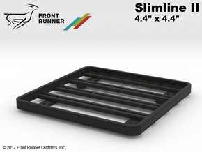 FR10026 Front Runner Rack 4.4x4.4 in Black Natural Versatile Plastic