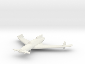 Curtiss-Wright XP-55 'Ascender' in White Strong & Flexible: 1:200
