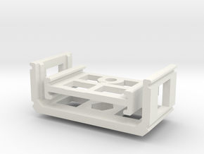 Zoom H1 Isolation Mount v2 in White Natural Versatile Plastic