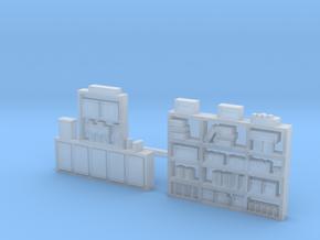 Workshelving Set #4, Super detailed....Loaded...N  in Frosted Ultra Detail