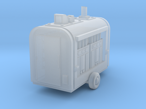 Industrial Compressor Unit, N Scale, Detailed in Smooth Fine Detail Plastic