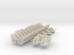 Harpoon (x24) + Oto Melara (x12) in White Acrylic