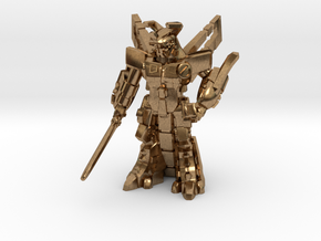 Waruder BlueStar, Battle Ready, 35mm Mini in Natural Brass: Large