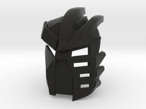 Kanohi Kraahvohkii - [2nd Epic Edition] in Black Natural Versatile Plastic