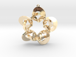fervid intimacy ensued in 14k Gold Plated Brass