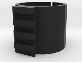 Scope Mount Diameter 4 in Black Natural Versatile Plastic
