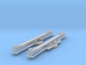1/96 USN P-6 Catapult Set 2 Units in Frosted Ultra Detail