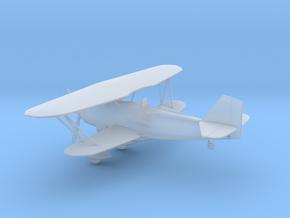 Curtiss P-6 Hawk biplane in Smooth Fine Detail Plastic: 1:144