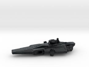 Warden Class ESPO Customs Frigate (armada) in Black Hi-Def Acrylate