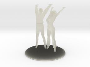 Divine Celebration Couple in Transparent Acrylic