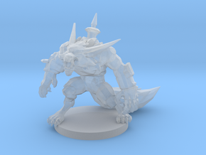 Warwick LoL miniature (20-28mm) in Frosted Ultra Detail: Small