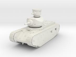 PV173A U.S. Ordnance M1921 Medium Tank (28mm) in White Natural Versatile Plastic