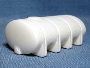 "1/64th ""S"" Scale 2035 Gal Elliptical Leg Tank in White Processed Versatile Plastic"