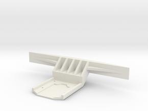 Carisma GT24B Bumper in White Natural Versatile Plastic