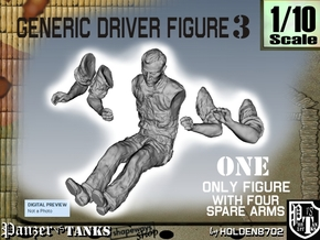 1-10 Generic Driver 03 in White Strong & Flexible