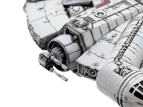 Laser turret 8pack in Frosted Extreme Detail