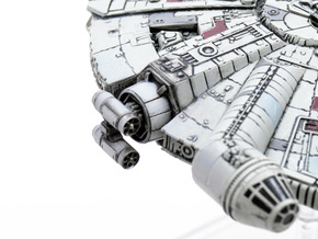 Double Missile pods 3 pairs in Smoothest Fine Detail Plastic
