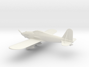 Curtiss XP-31 Swift in White Natural Versatile Plastic: 1:64 - S