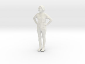Printle C Femme 528 - 1/24 - wob in White Strong & Flexible