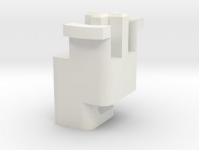 Topre to MX 6.25u Stabilizer Plunger (Right) in White Natural Versatile Plastic