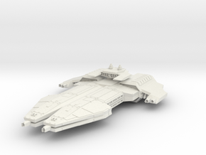 Interceptor Royal Guard Rift  BattleDestroyer in White Natural Versatile Plastic