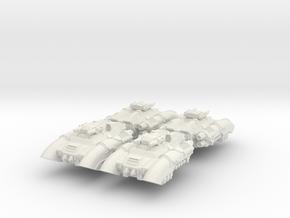 6mm Corona Anti-Grav APC (4pcs) in White Natural Versatile Plastic