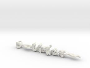 Twine Velez/Santana in White Strong & Flexible