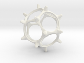 Quarter Spinner in White Strong & Flexible