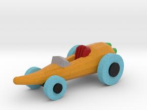 Carrot Car in Full Color Sandstone: Medium