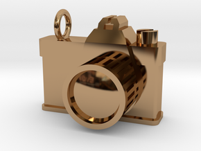 Pendant Camera in Polished Brass
