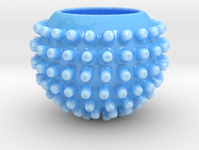 Stud Cup in Gloss Blue Porcelain