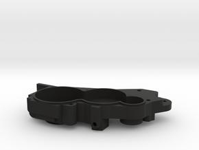 V2 TLR 3 Gear Laydown Transmission (left) in Black Natural Versatile Plastic