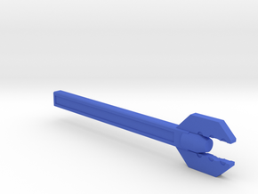 Sonic Wrench version A in Blue Processed Versatile Plastic