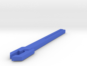 Sonic Wrench version C in Blue Processed Versatile Plastic