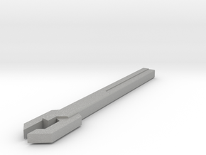 Sonic Wrench version C in Raw Aluminum